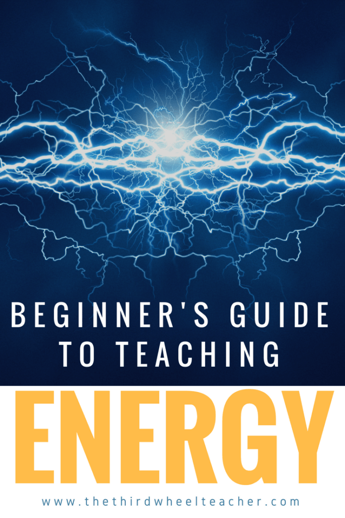 overview of teaching energy unit to elementary students