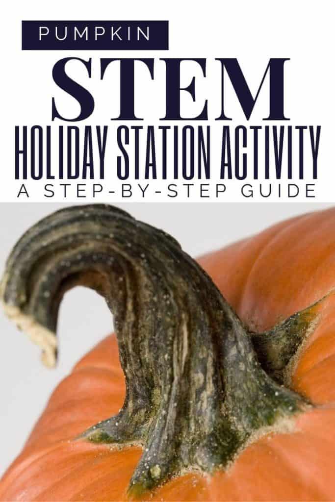 pumpkin STEM Science Stations