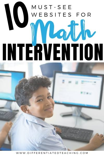 10 Must See Websites for Math Intervention