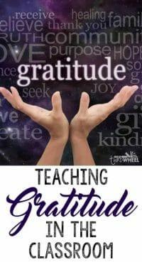 gratitude journals for kids - classroom gratitude journals