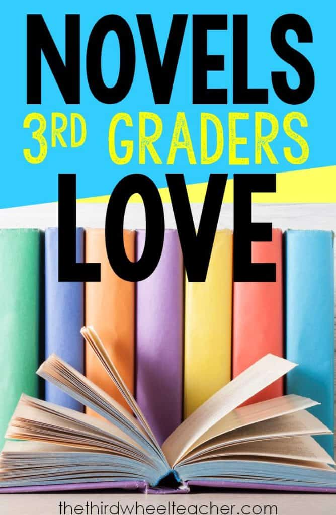 Novels 3rd grade readers. Get ideas for your next literature circle and find new books to add to your classroom library.