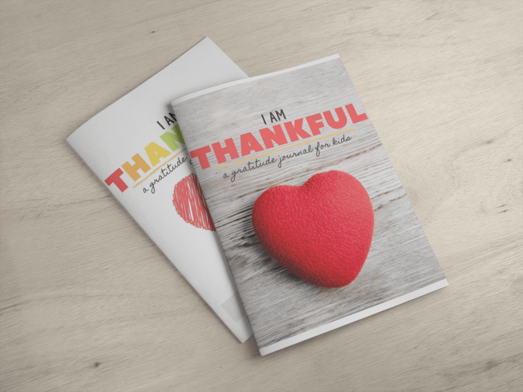 Getting Started with Gratitude Journals for kids - Free Template with two cover choices