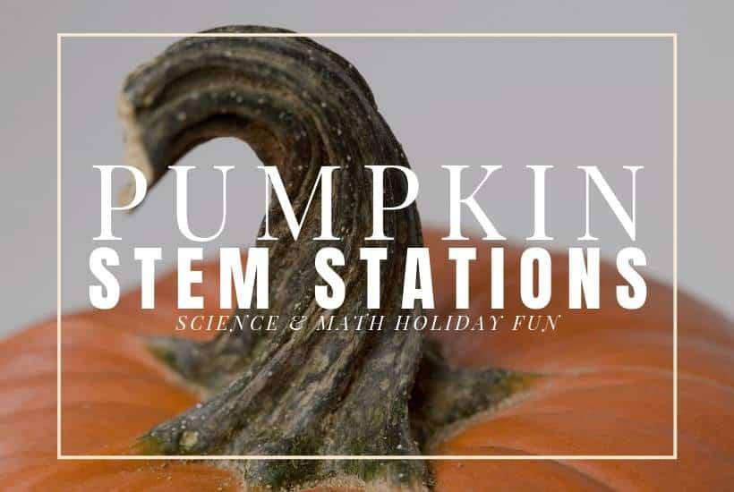 Pumpkin science - pumpkin STEM stations for the upper elementary classroom