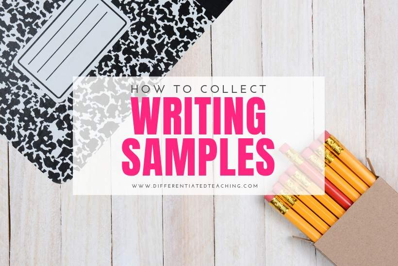 collect writing samples