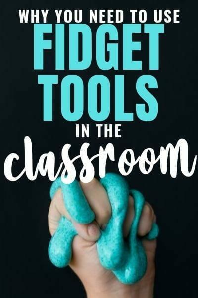 classroom fidget tools