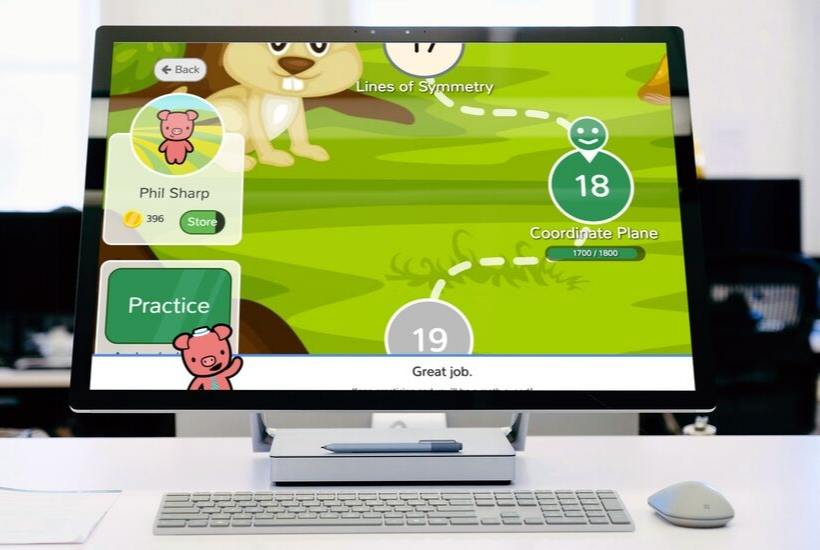 Freckle for game-based learning
