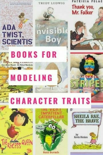 Books for modeling character traits