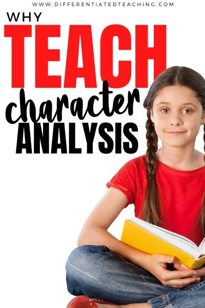 teaching character analysis and identifying character traits