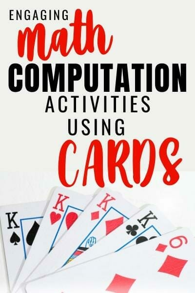 teaching math facts to struggling learners with playing cards