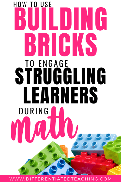 using building blocks to help struggling learners with math