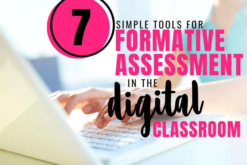 Digital Formative Assessment Tools