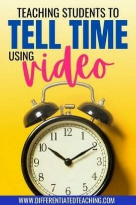 teaching about time with video