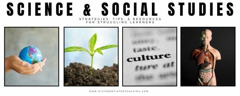 teaching science and social studies