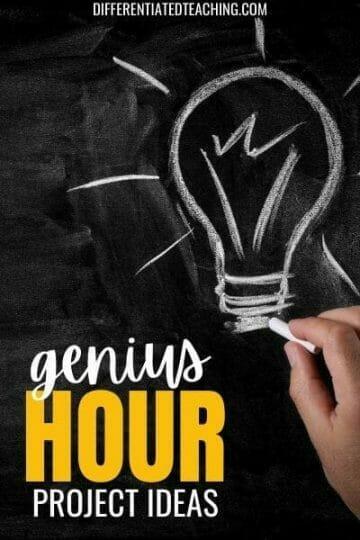 Genius hour project ideas