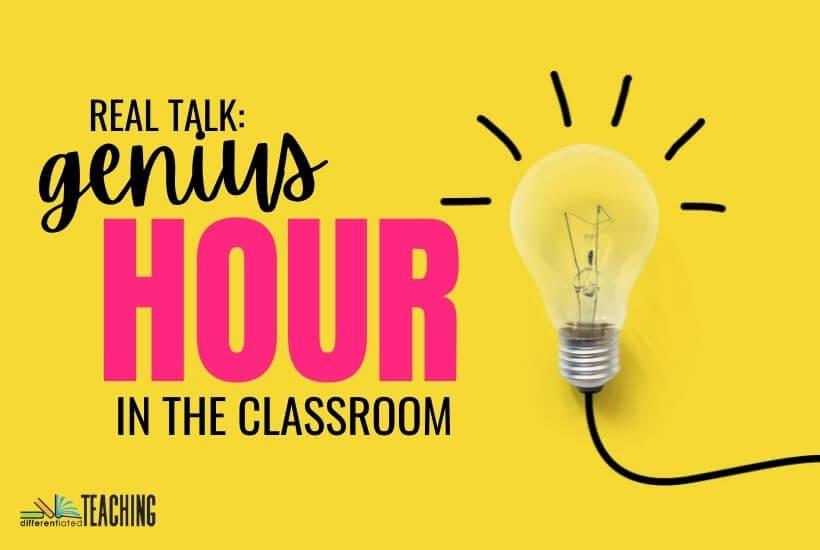 Genius Hour in the classroom