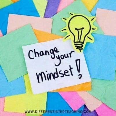 growth mindset approach for math