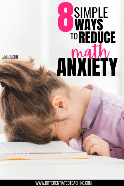 Ways to Support Learners with Math Anxiety