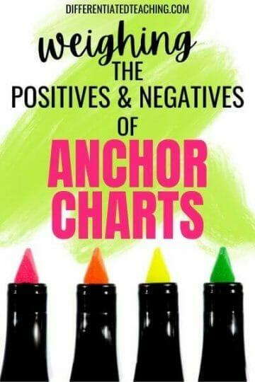benefits of anchor charts