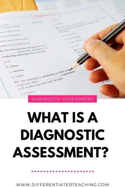what is diagnostic assessment