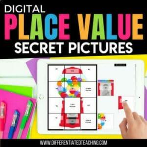 Place Value Secret Pictures