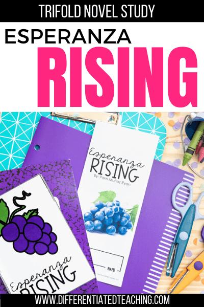 Esperanza Rising Novel Unit
