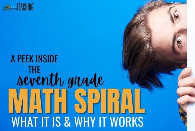 math spiral review 7th grade