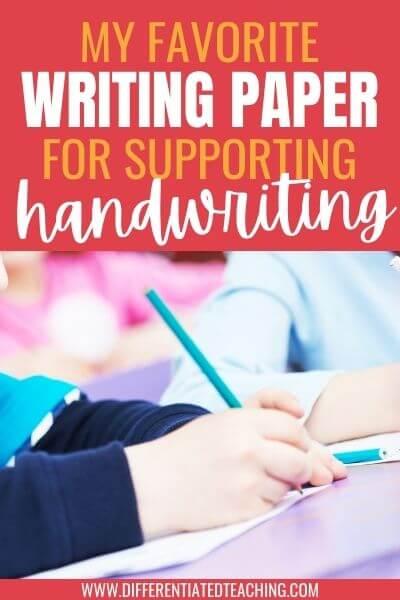 Best paper for poor handwriting