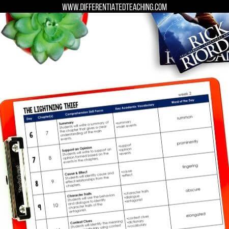 The Lightning Thief Teacher Guide