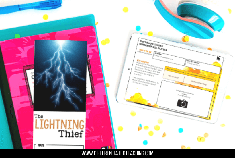 The Lightning Thief Book Unit