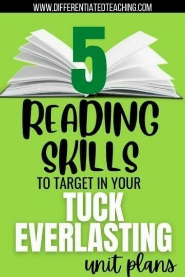 Reading Tuck Everlasting